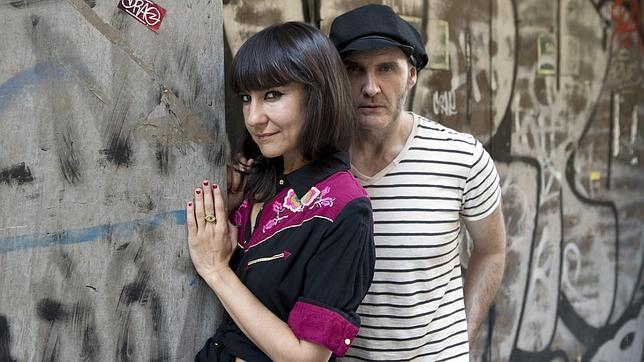 Eva Amaral y Juan Aguirre, integrantes de Amaral, en una imagen de archivo