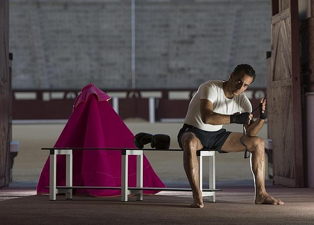 Iván Fandiño, en Las Ventas, preparado para su próximo «asalto»
