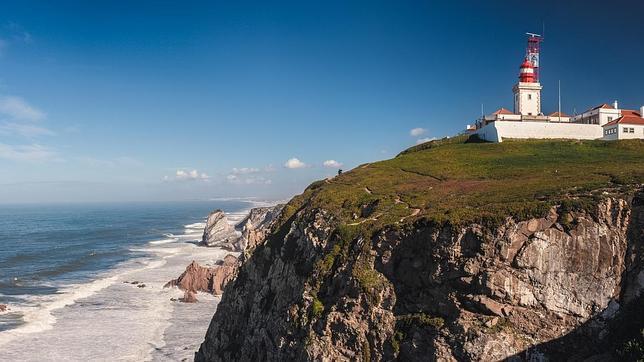 Imagen de los acantilados de Cabo da Roca, en Portugal