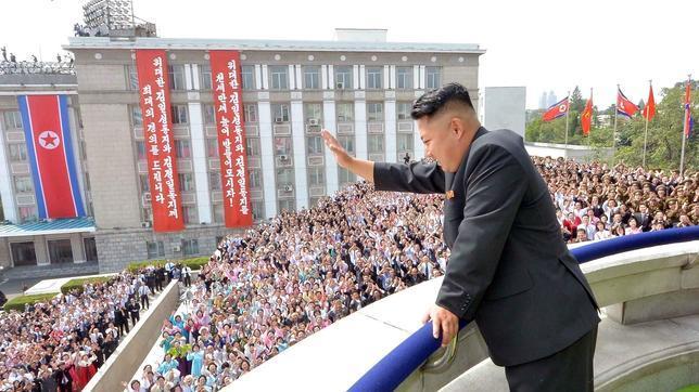 Pyongyang, visto como si fuera Nueva York