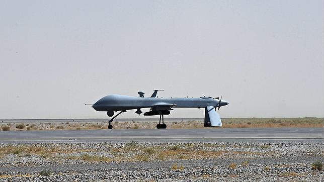 Un dron U.S. Predator del Ejército de EE.UU.