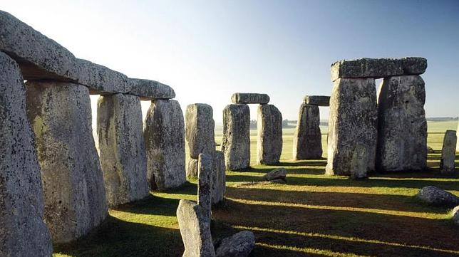Vista del interior del Stonehenge