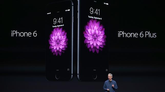 78dbcd931f8 En directo: Apple presenta el iPhone 6, un «phablet» y el reloj Apple Watch