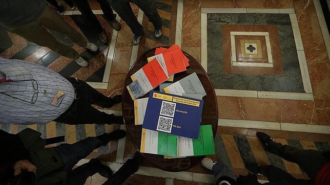 Presentación en el Congreso de los Presupuestos del año pasado