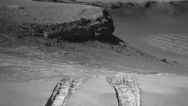 así es la superficie de Marte