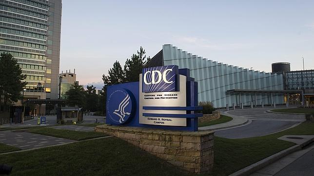 Aspecto de la entrada a los centros para el Control y Prevención de Enfermedades (CDC)