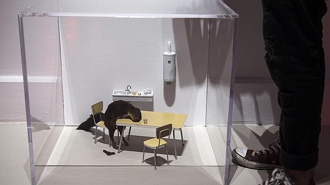 La obra «Bidibidobidiboo», de Maurizio Cattelan