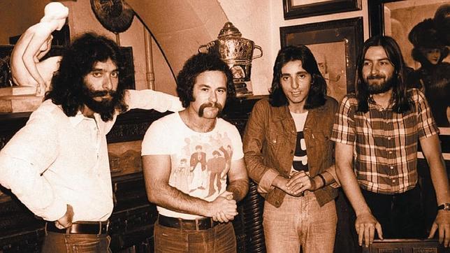 Una imagen de archivo de Cánovas, Rodrigo, Adolfo y Guzmán