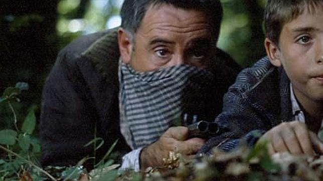 Alfredo Landa, en el papel de «Fendetestas» en «El bosque animado»