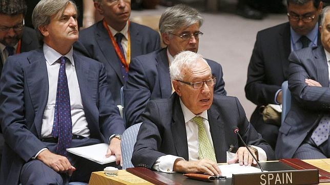 García-Margallo, en el Consejo de Seguridad, el 19 de septiembre