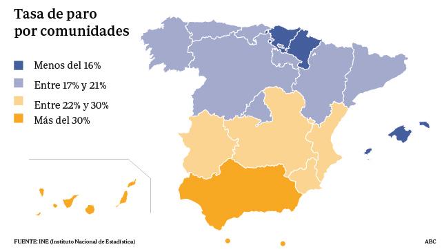 El Desempleo Bajó En Doce Comunidades Autónomas En El Tercer Trimestre
