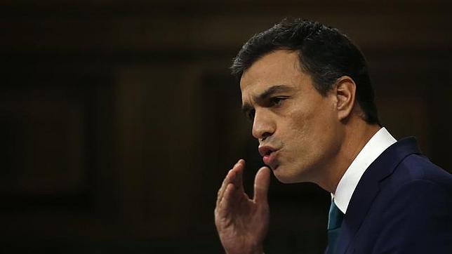 El líder del PSOE, en el Congreso