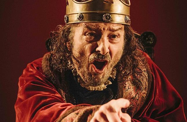 Juan Diego en el papel de Ricardo III