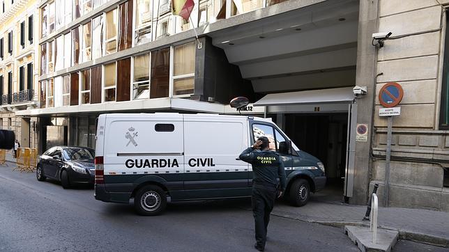 Los detenidos por la operación Púnica fueron trasladados a la Audiencia Nacional