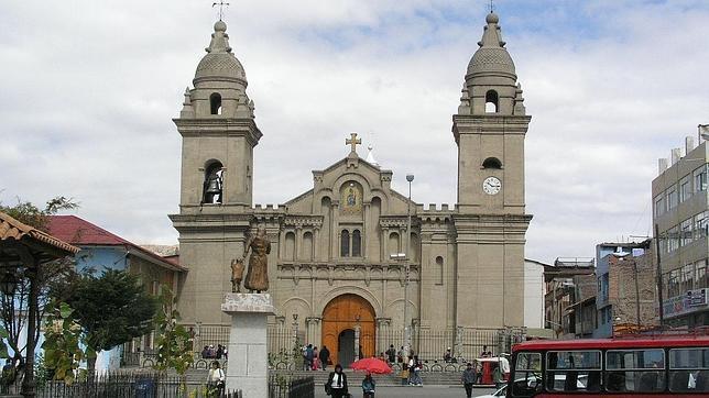 La catedral de Jauja, en Perú