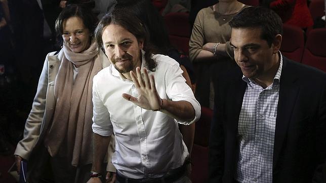 El nuevo secretario general de Podemos, Pablo Iglesias
