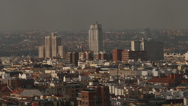 La contaminación en la ciudad de Madrid en el año 2012