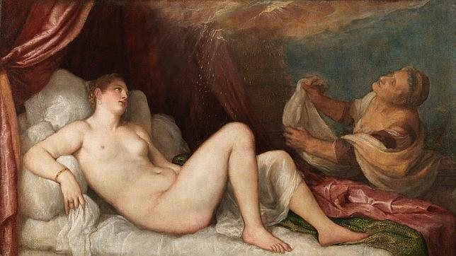 Dánae, de Tiziano, puede verse hasta el 1 de marzo en el Museo del Prado