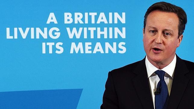 El primer ministro británico, David Cameron, el pasado lunes