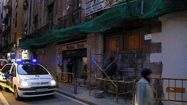 Aspecto del edificio cuyo desalojo precipitó el llamado caso 4-F