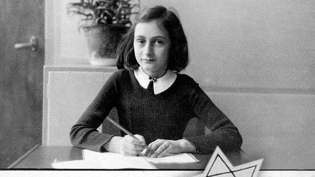 Ana Frank en su instituto