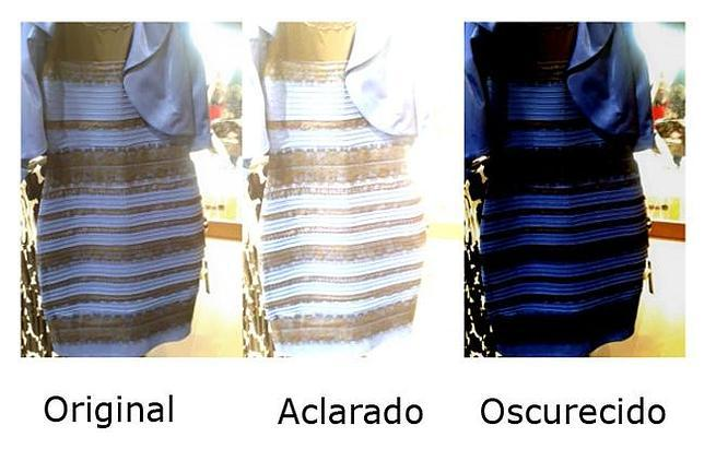 Tres formas de ver un mismo vestido