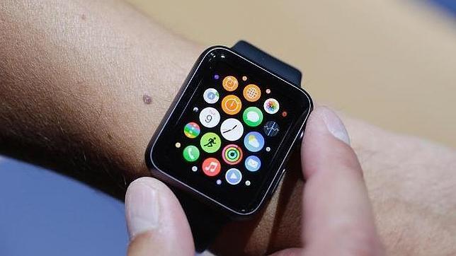 Detalle del Apple Watch, el próximo reloj inteligente de la compañía norteamericana