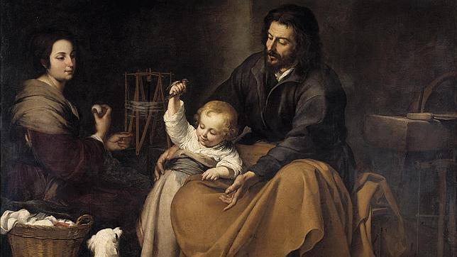 La Sagrada Familia del pajarito, de Bartolomé Esteban Murillo
