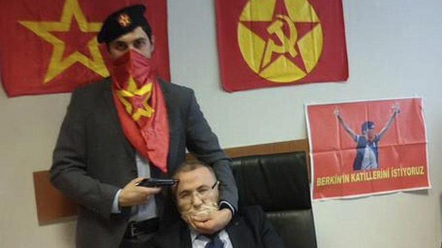 Fotografía publicada en Twitter por el partido ilegalizado DHKP-C