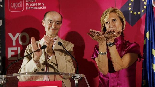Fernando Maura y Rosa Díez, en una imagen de archivo