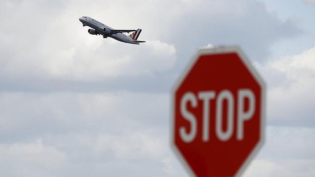 Un avión de Germanwings despega desde Duesseldorf