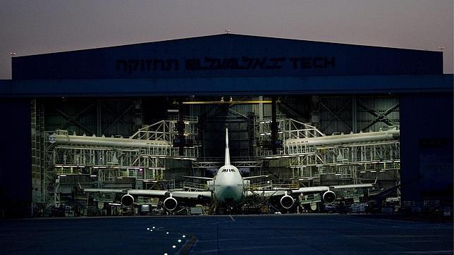 Imagen de archivo del aeropuerto de Ben Gurion