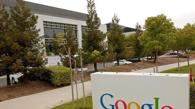 Vista de la sede central de Google