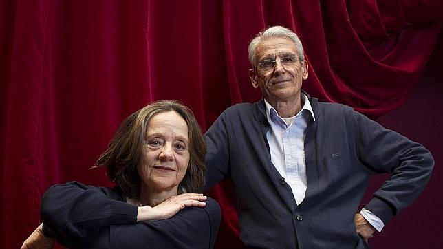 Jeannine Mestre y Juan Pastor, en el Teatro Español