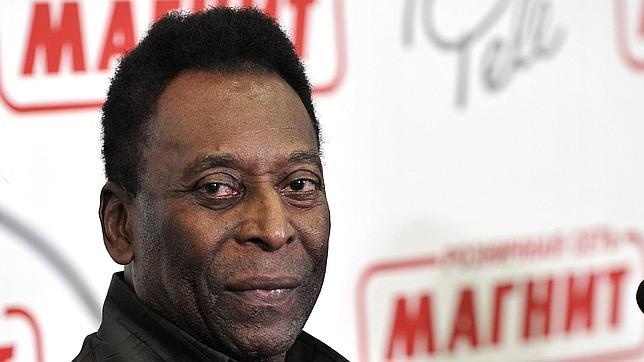 Pelé, en una imagen de archivo