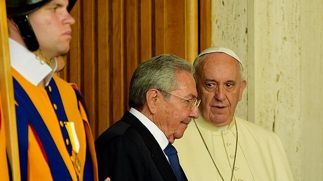 El Papa recibe a Castro