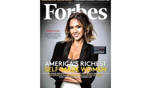 La portada de Forbes con Alba de protagonista