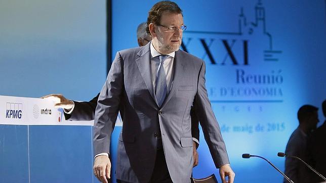 Mariano Rajoy este fin de semana en Sitges