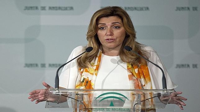 La presidenta andaluza en funciones, Susana Díaz