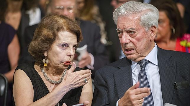 Patricia Vargas Llosa y su marido