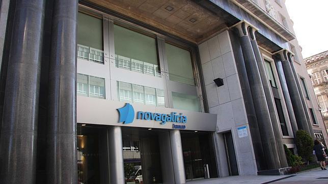 Imagen de la sede de la antigua Novagalicia en Vigo, hoy Abanca y antes Novacaixagalicia