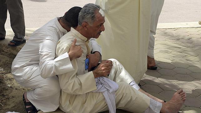 Algunas víctimas del atentado de Kuwait