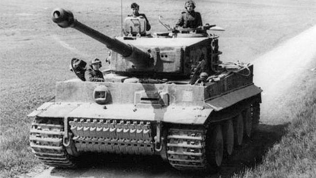 El Tiger fue uno de los mejores carros de combate de la II Guerra Mundial. Su efectividad aumentaba en manos de un comandante como este germano