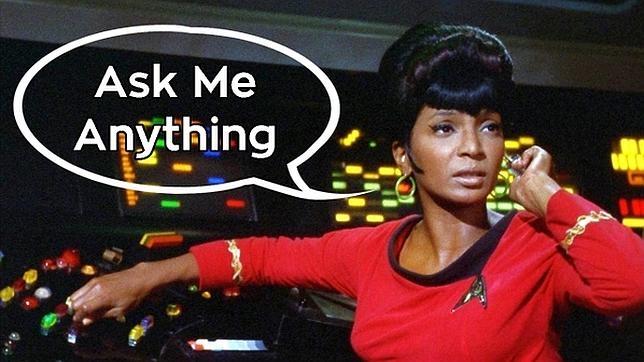 El rol de la teniente Uhura, la experta en comunicaciones de la Enterprise, ha sido interpretada últimamente por Zoe Saldana