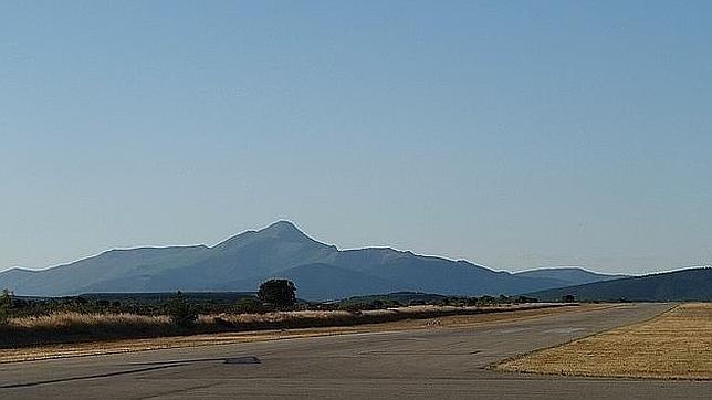 Vista del aeródromo de Robledillo de Mohernando