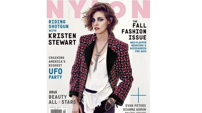 Portada de la revista «Nylon