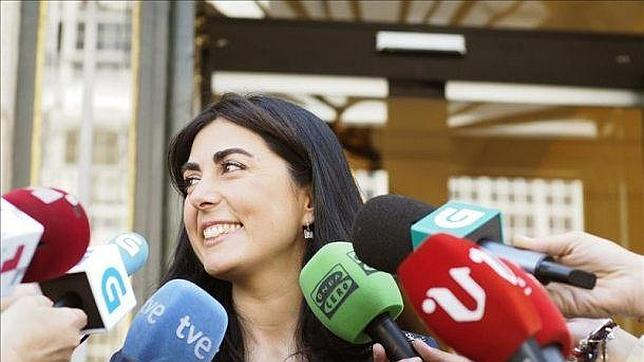 Elena Candia, presidenta de la Diputación de Lugo