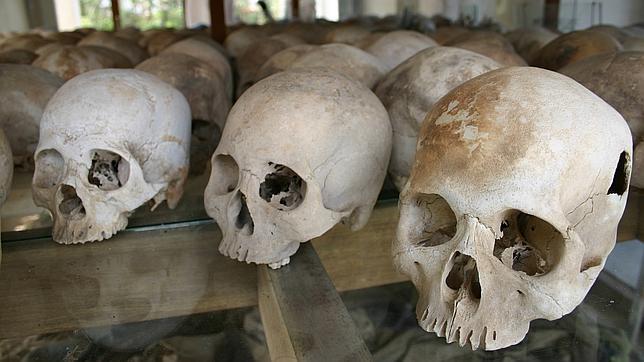 Campo de la muerte de los Jemeres Rojos, a 15 kilómetros de Phnom Penh