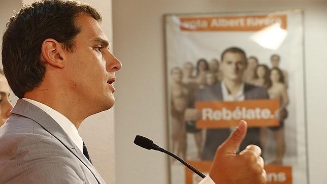 Albert Rivera, candidato de Ciudadanos a la presidencia del Gobierno.