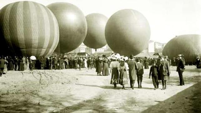 El Parque de Aerostación de Guadalajara fletó varios globos para poder ver el eclipse desde el cielo